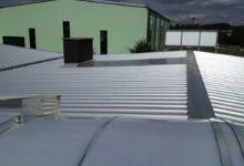 Asbest Dach Neu