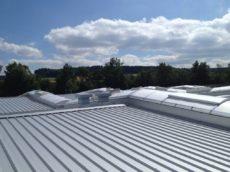 Dachsanierung Trapezdach