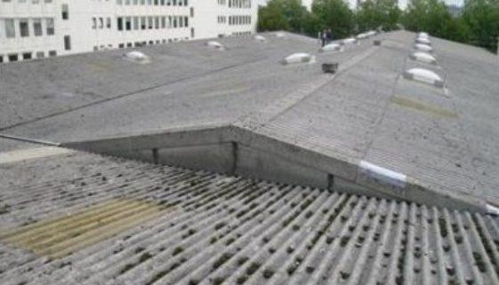 Asbestsanierung Düsseldorf vorher