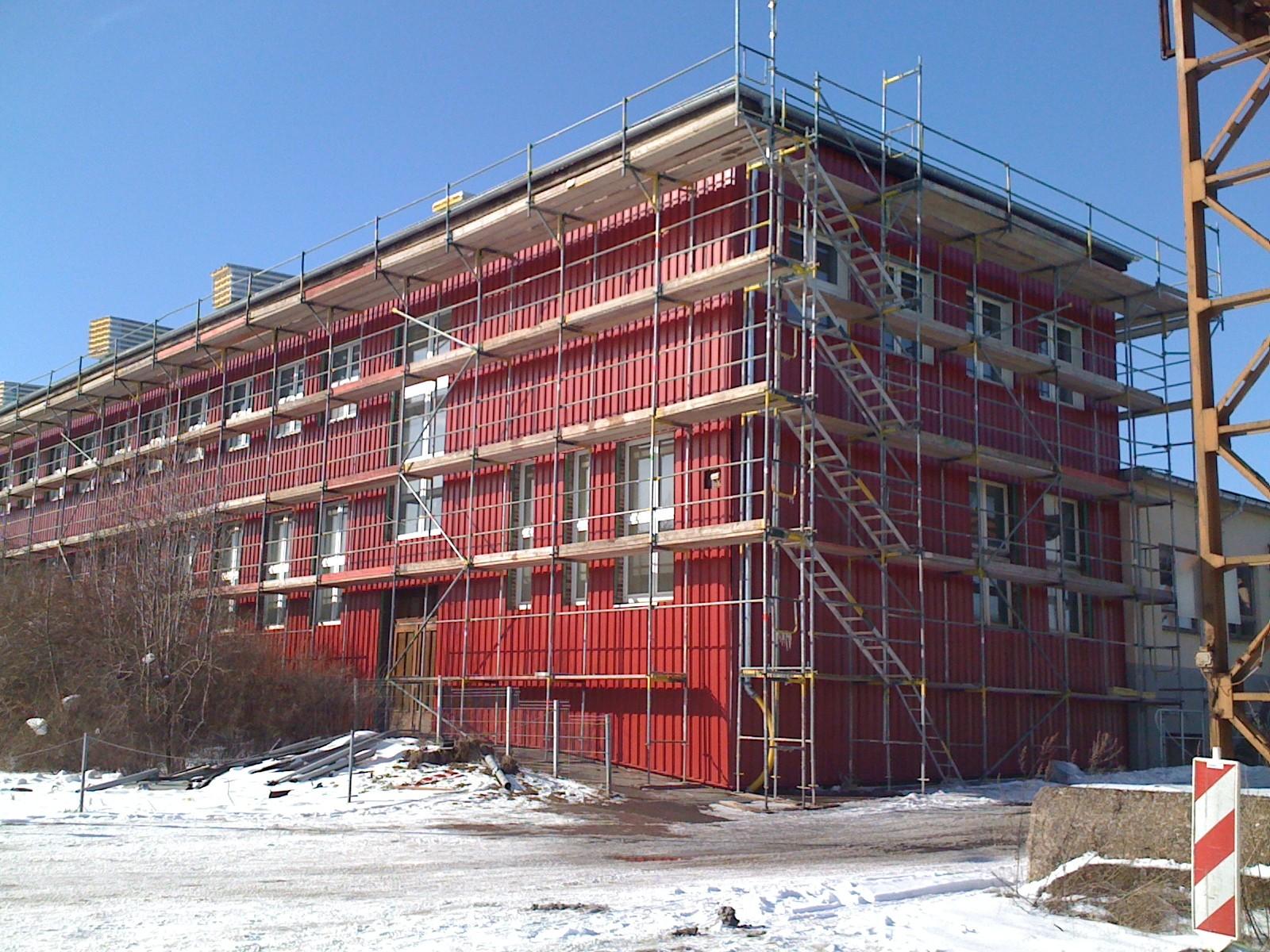 Fassadensanierung in Weimar