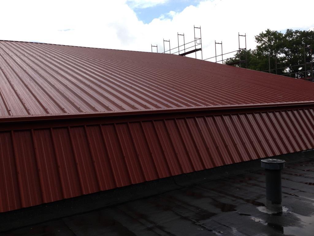 Dachsanierung einer Tennishalle